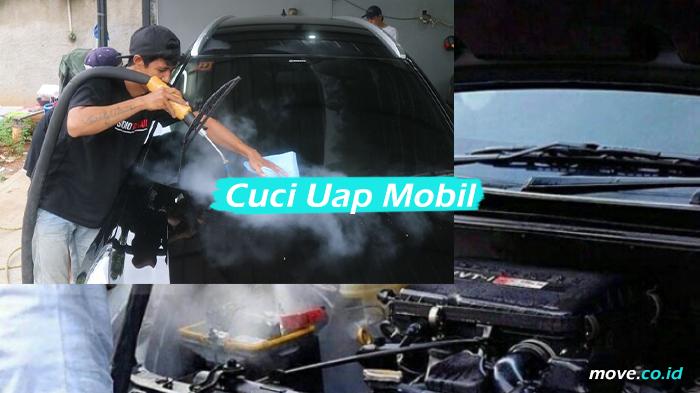 Cuci Uap Mobil