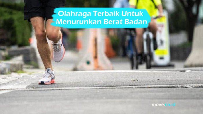 Olahraga Terbaik Untuk Menurunkan Berat Badan